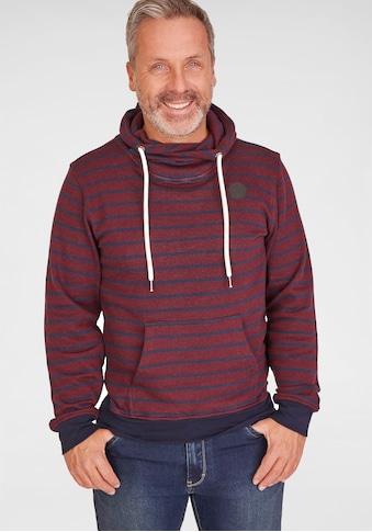NAVIGAZIONE Kapuzensweatshirt mit Streifen kaufen