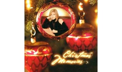 Musik-CD »CHRISTMAS MEMORIES / STREISAND, BARBRA« kaufen