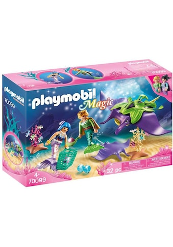 Playmobil® Konstruktions-Spielset »Perlensammler mit Rochen (70099), Magic«, Made in... kaufen