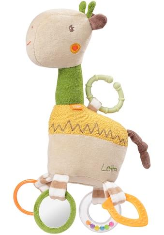 Fehn Greifspielzeug »Loopy & Lotta Activity-Giraffe«, mit Ring kaufen
