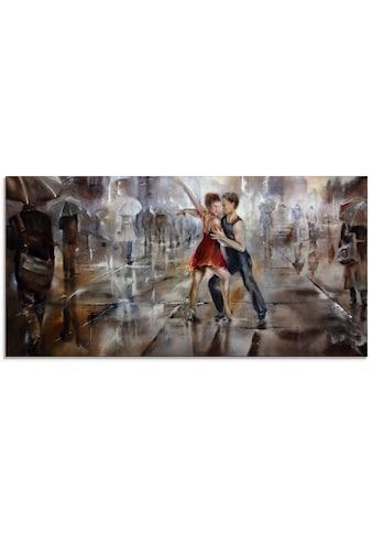 Artland Glasbild »Es regnet wieder«, Paar, (1 St.) kaufen
