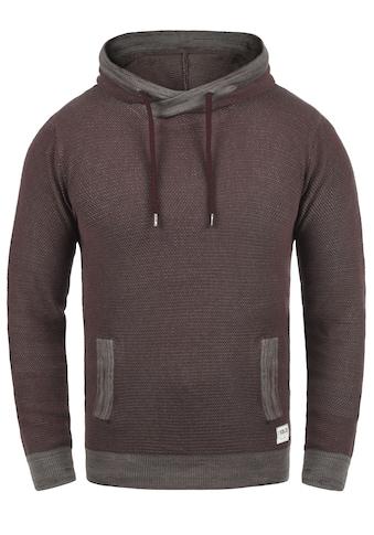 Solid Kapuzenpullover »Raekwon«, Kapuzensweatshirt mit Cross-Over Kragen kaufen