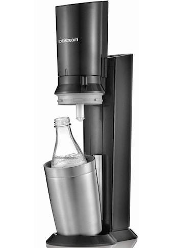 SodaStream Wassersprudler »Crystal 2.0 titan«, (1 tlg.), KEIN CO2-Zylinder enthalten kaufen