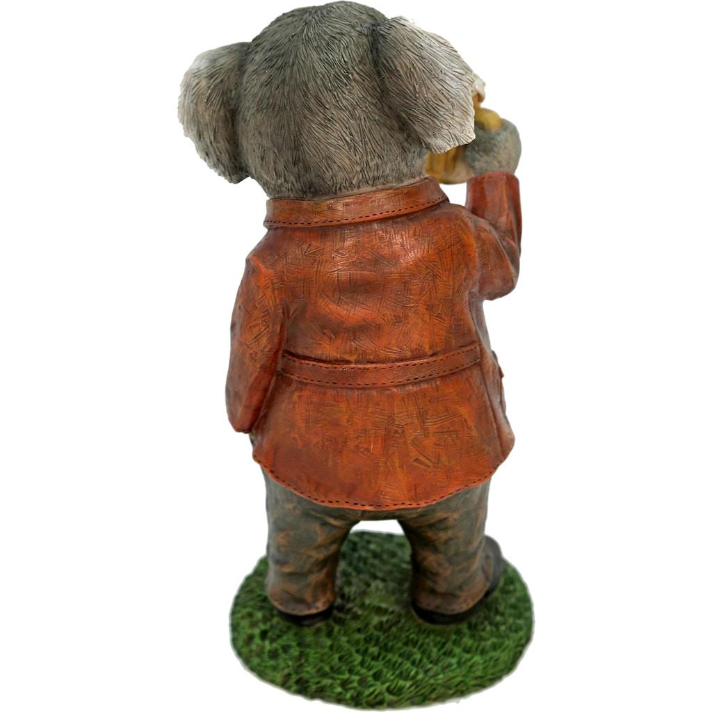 Casa Collection by Jänig Tierfigur »Herr Koala im Anzug trinkt Bier«
