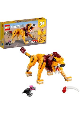 LEGO® Konstruktionsspielsteine »Wilder Löwe (31112), LEGO® Creator«, (224 St.), Made... kaufen