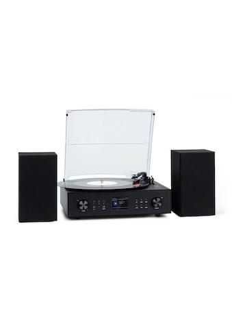 Auna Smartradio Plattenspieler 2 Lautsprecher 20Wm »KC3 - Connect TT« kaufen