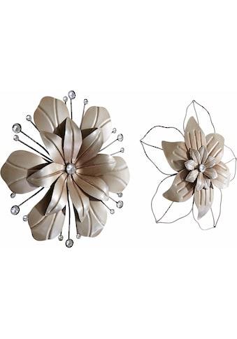 Wanddekoobjekt »Blume« (2er - Set) kaufen