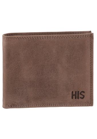 H.I.S Geldbörse, aus hochwertigem Leder kaufen