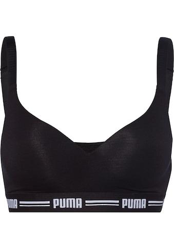 PUMA Bralette »Iconic«, mit leicht gepaddeten Cups kaufen