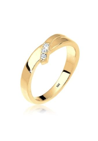 Diamore Diamantring »Trio Verlobung Diamant 0.06 ct. 585 Gold« kaufen