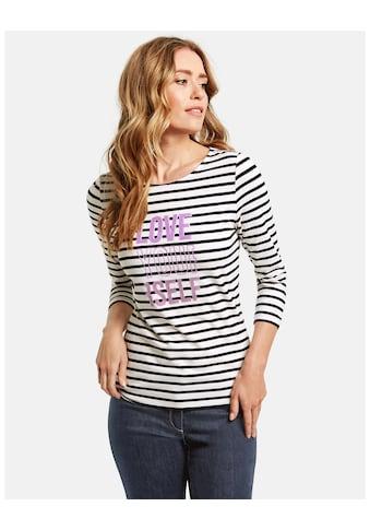 GERRY WEBER T - Shirt 3/4 Arm »3/4 Arm Shirt Women´s Day« kaufen