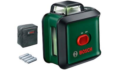 BOSCH Packung: Kreuzlinienlaser »UniversalLevel 360«, 1,5 V, 540 Nm, inkl. 4 Akkus kaufen