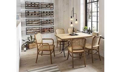 SIT Esszimmerstuhl, mit Wiener Geflecht, klassischer Bistrostuhl, Holzstuhl kaufen