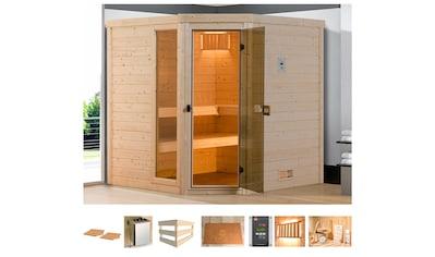 weka Sauna »Arendal 1«, 7,5 kW Ofen mit ext. Steuerung kaufen