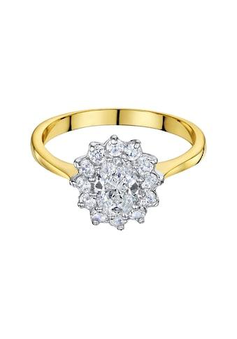 Buckley London Ring vergoldet mit Zirkonia kaufen