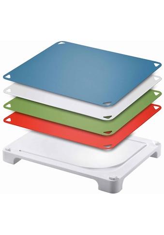 """Leifheit Schneidebrett """"Vario Board"""", Kunststoff, (Set, 5 - tlg.) kaufen"""