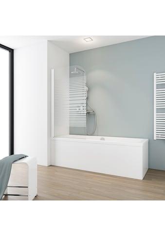 Schulte Badewannenfaltwand »Komfort«, Breite: 80 cm, gestreift kaufen