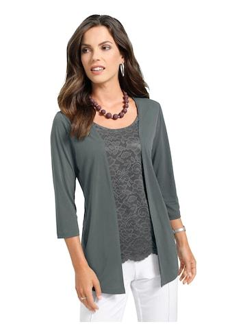Lady Shirt in raffinierter 2 - in - 1 - Optik kaufen
