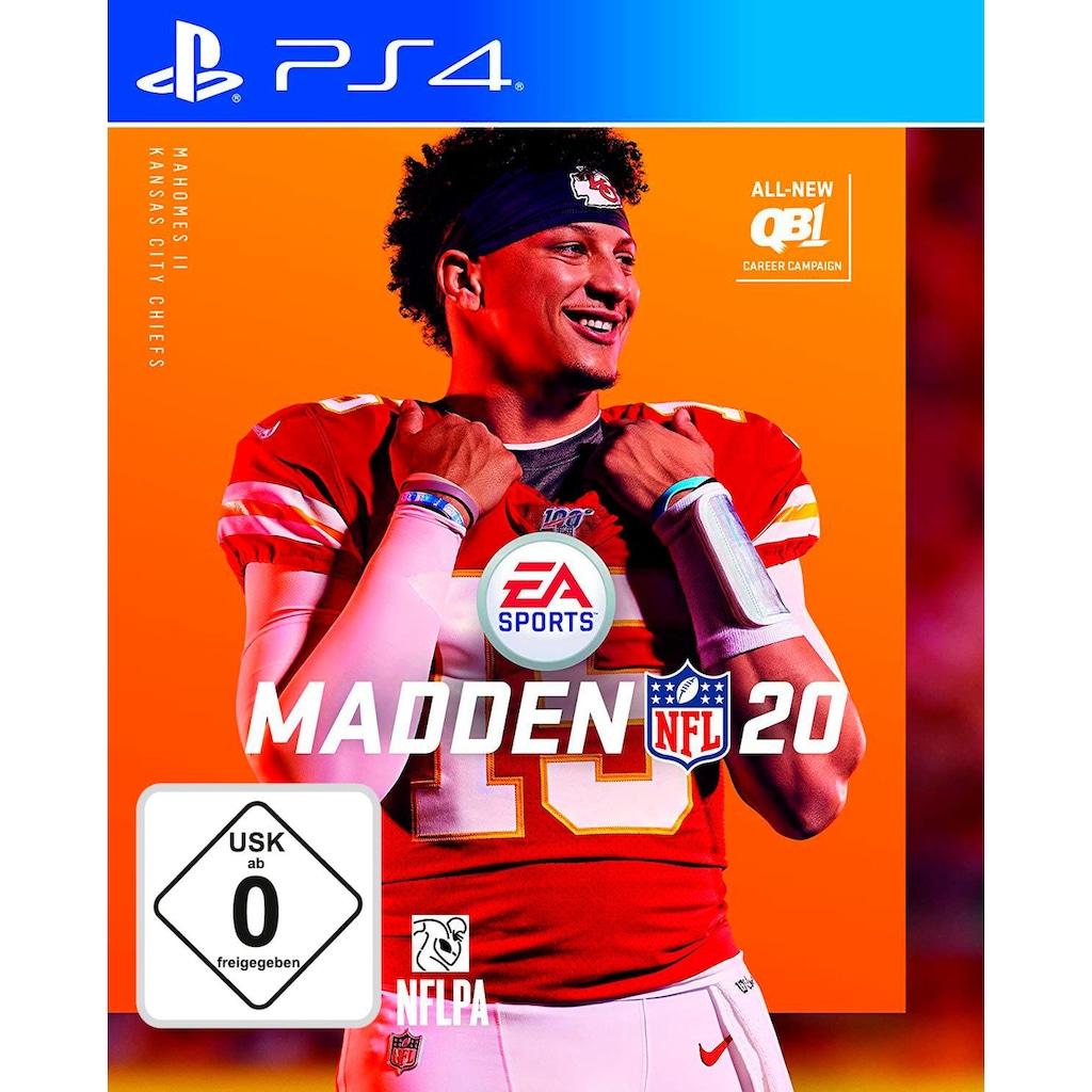 Electronic Arts Spiel »Madden NFL 20«, PlayStation 4