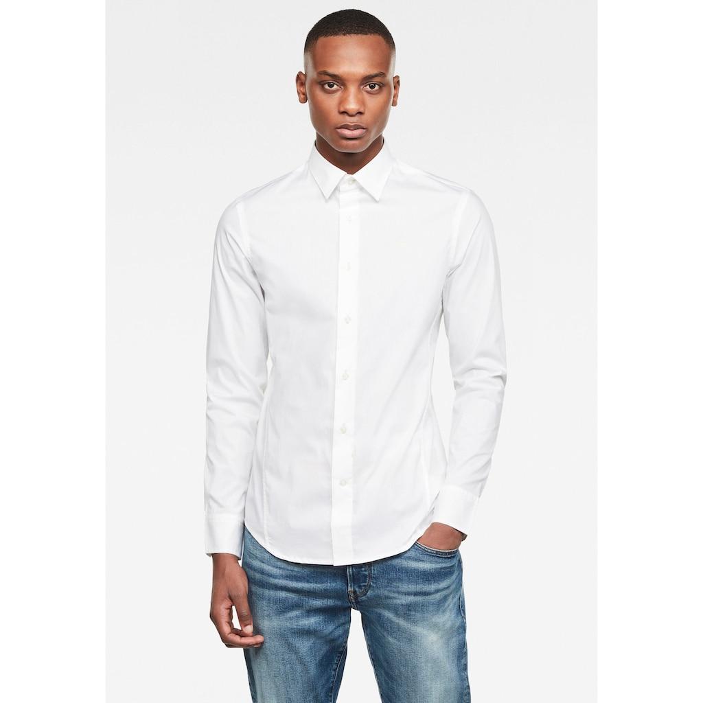 G-Star RAW Langarmhemd »Dressed Super Slim Hemd«