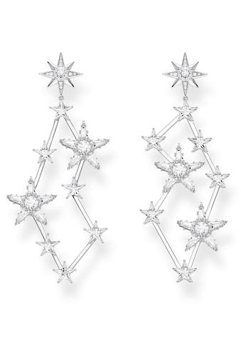 THOMAS SABO Paar Ohrstecker »Sterne silber, H2085-051-14«, mit Zirkonia kaufen