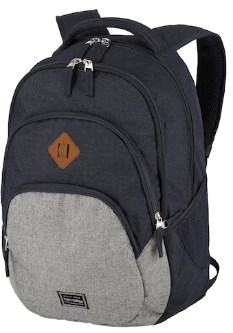 travelite Cityrucksack »Basics, marine/grau« kaufen