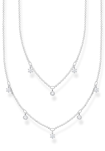 THOMAS SABO Silberkette »weiße Steine, KE2072-051-14-L45v«, mit Zirkonia kaufen