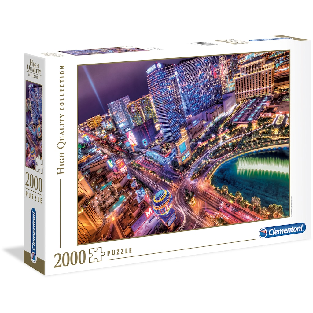 Clementoni® Puzzle »High Quality Collection - Las Vegas«, Made in Europe