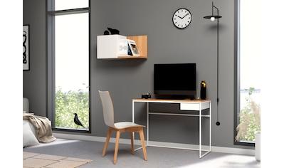 now! by hülsta Schreibtisch »CT 17«, mit Schublade und weißem Gestell kaufen