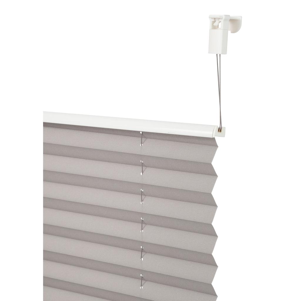 my home Plissee »LAHOLM«, Lichtschutz, ohne Bohren, verspannt, im Fixmaß