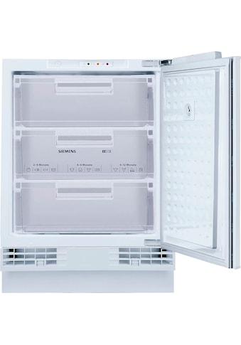 SIEMENS Einbaugefrierschrank »GU15DADF0«, iQ500, 82 cm hoch, 59,8 cm breit kaufen