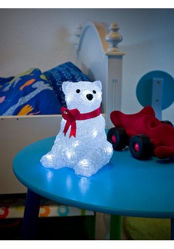 KONSTSMIDE LED Eisbär mit Schleife kaufen