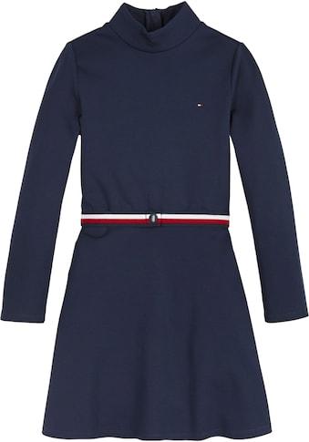 TOMMY HILFIGER A-Linien-Kleid, mit Stehkragen kaufen