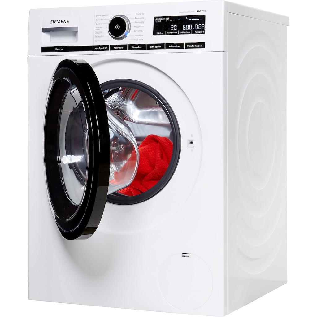SIEMENS Waschmaschine »WM14VMA2«, iQ700, WM14VMA2, 9 kg, 1400 U/min