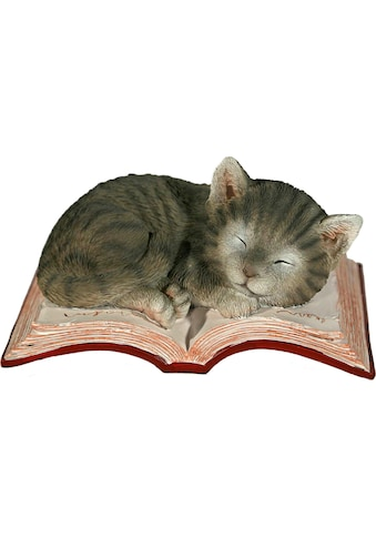 Casa Collection by Jänig Tierfigur »Katze schlafend auf Buch« kaufen