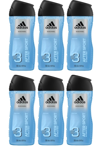 "adidas Performance Duschgel ""After Sport 3in1"", Spar - Set 6 - tlg. kaufen"