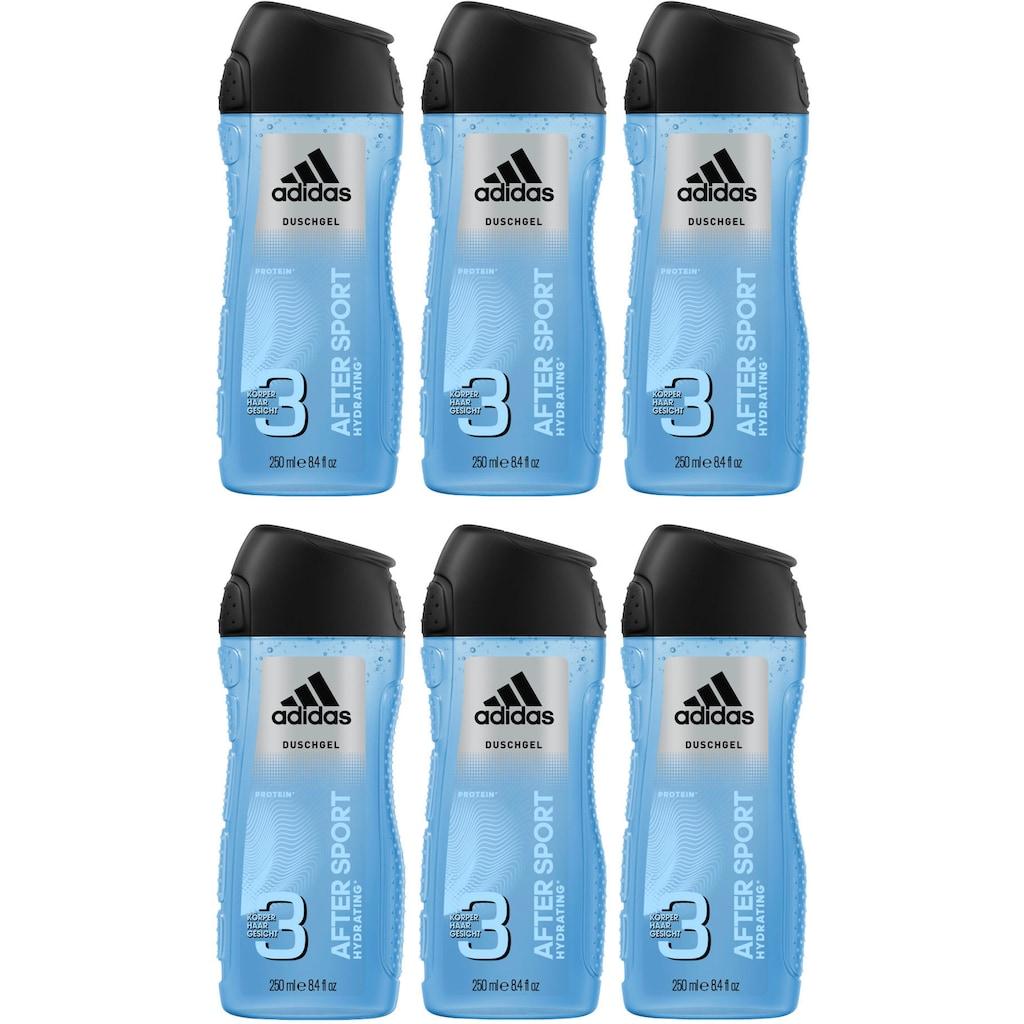 adidas Performance Duschgel »After Sport 3in1«, (Spar-Set, 6 tlg.), für Männer