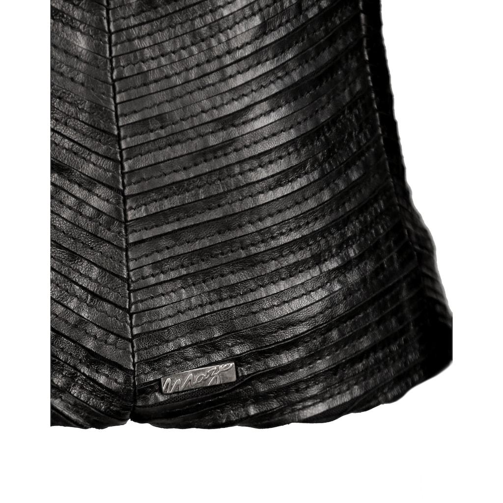 Maze Lederblazer aus Premium-Stretch Leder