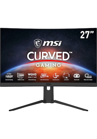 "MSI Curved-Gaming-Monitor »Optix G27CQ4P«, 69 cm/27 "", 2560 x 1440 px, QHD, 1 ms... kaufen"