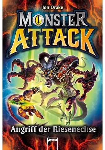 Buch »Monster Attack (1). Angriff der Riesenechse / Jon Drake, Steve Sims, Jan Möller« kaufen