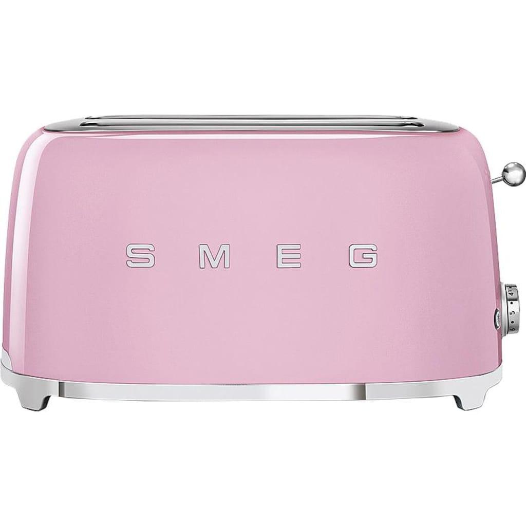 Smeg Toaster »TSF02PKEU«, 2 lange Schlitze, 1500 W