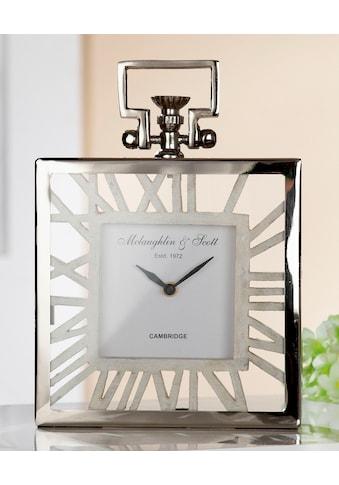 GILDE Standuhr »Uhr Forma«, Höhe 29 cm, eckig, römische Ziffern, Wohnzimmer kaufen