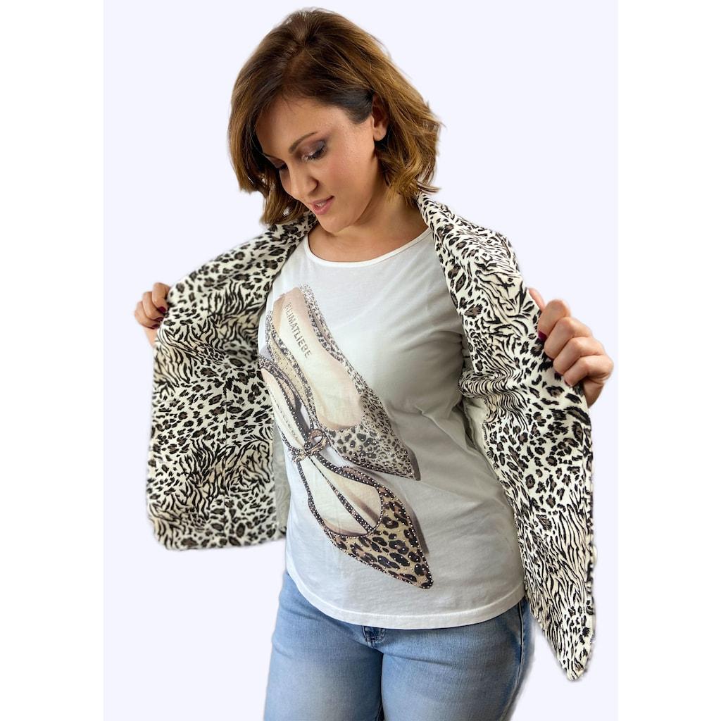 Heimatliebe Blazer im Leopardenmuster