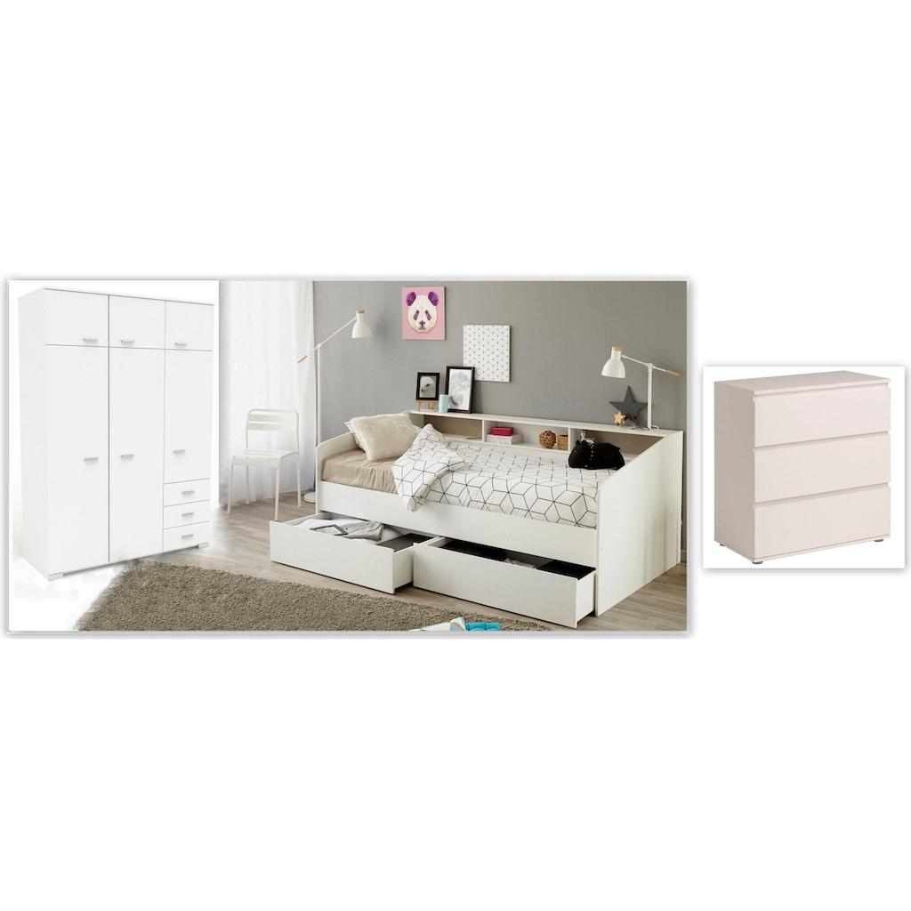 Parisot Jugendzimmer-Set »Sleep«, (Set, 3 St.)
