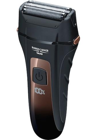 BEURER Elektrorasierer »BarbersCorner HR 7000«, 2 St. Aufsätze, Folienrasierer kaufen