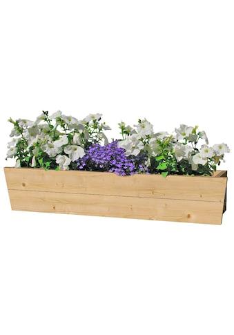 Outdoor Life Products Blumenkasten, B: 130 cm, Fichtenholz kaufen