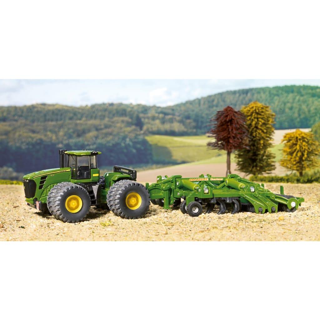 Siku Spielzeug-Traktor »SIKU Farmer, John Deere 9630 mit Amazone Centaur«