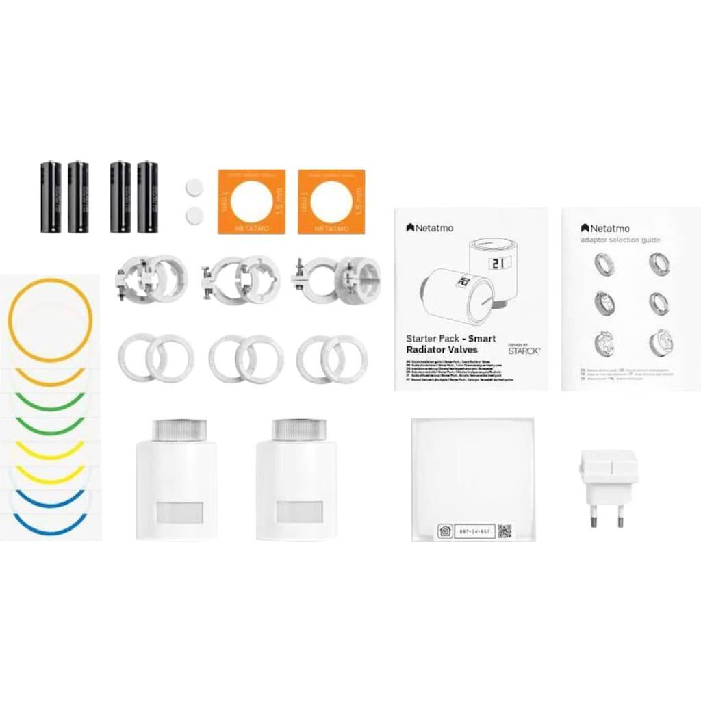 Netatmo Heizkörperthermostat »Smarte Heizkörperthermostate Starterpaket«