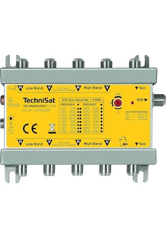 TechniSat Multischalter (Einkabelverteilung) auf bis zu 16 Teilnehmer »TECHNIROUTER 5/1x16« kaufen