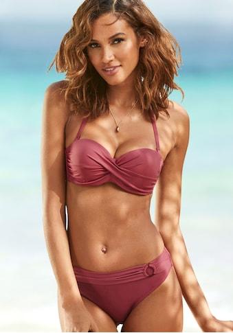 s.Oliver Bügel-Bandeau-Bikini-Top »Rome«, in Wickeloptik kaufen